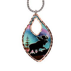 Moose Alaska Necklace