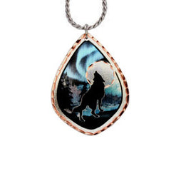 Wolf Alaska Necklace