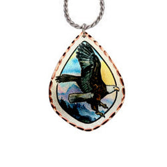 Eagle Alaska Necklace