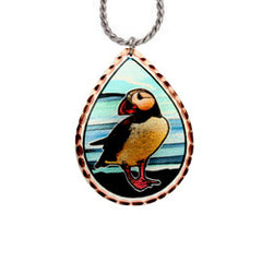Puffin Alaska Necklace