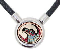Eagle Braided Leather Necklace