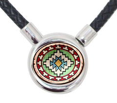 Native Braided Leather Necklace