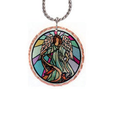 Angel Colourful Copper Necklace - Oscardo