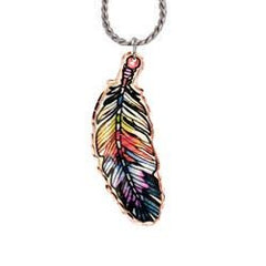 Colourful Feather Necklace