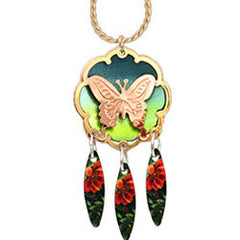 Butterfly Colourful Cut-out Necklace
