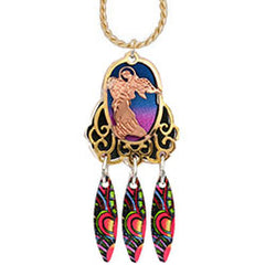 Angel Colourful Cut-out Necklace - Oscardo