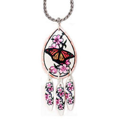 Butterfly Colourful Multiple Necklace