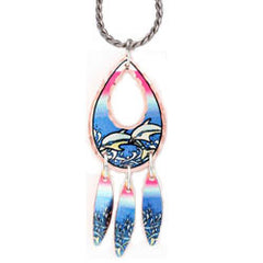Dolphin Colourful Multiple Necklace