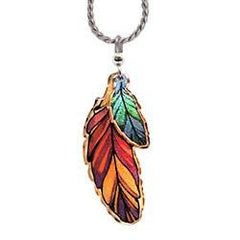 Feather Multiple Necklace
