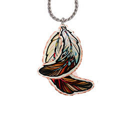 Natve feather Necklace