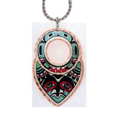 Colourful NW Native Necklace