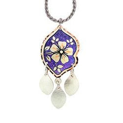 Floral Design Colourful Flower Multiple Necklace
