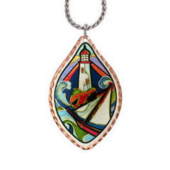 Lighthouse Lynn Bean Native Design Necklace