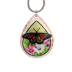 Butterfly Lynn Bean Native Design Necklace