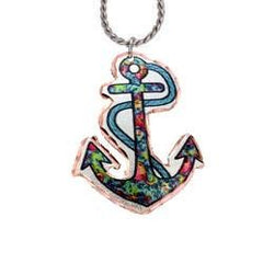 Anchor Marine Copper Necklace - Oscardo