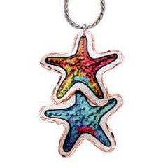 Dangle Starfish Marine Copper Necklace