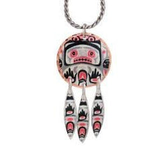 'Bear Box' Artist Collection Copper Necklace - Oscardo