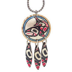 Salmon Artist Collection Copper Multiple Necklace