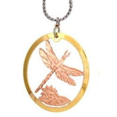 Dragonfly Cut-out Necklace