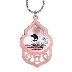 Loon Filigree Necklace