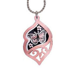 Butterfly Filigree Necklace