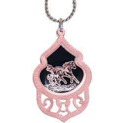 Horse Filigree Necklace