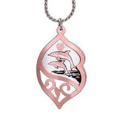 Dolphin Filigree Necklace