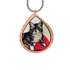 Cat Colourful Lynn Bean Necklace