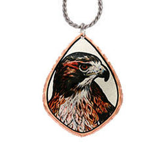 Eagle Colourful Lynn Bean Necklace