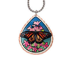 Butterfly Colourful Lynn Bean Necklace