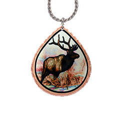 Elk Colourful Lynn Bean Necklace