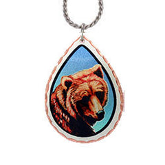 Bear Colourful Lynn Bean Necklace