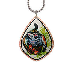 Monkey Colourful Lynn Bean Necklace