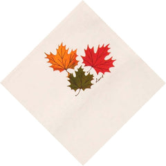 Ruth Lund Triple Leaves Napkin