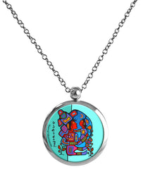 Norval Morrisseau Mother & Child Necklace