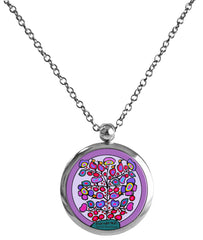 Norval Morrisseau Woodland Floral Necklace