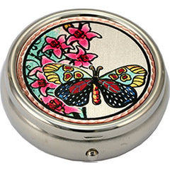 Butterfly Colourful Pill Box