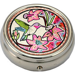 Hummingbird Colourful Pill Box