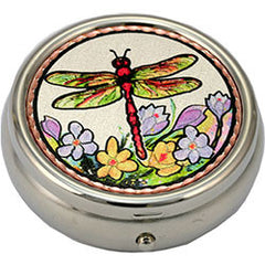 Dragonfly Colourful Pill Box