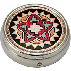 Native Design Colourful Pill Box
