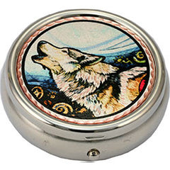 Wolf Colourful Lynn Bean Pill Box
