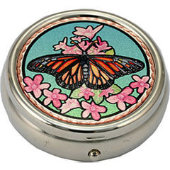 Butterfly Colourful Lynn Bean Pill Box
