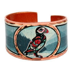 Native Puffin Alaska Ring