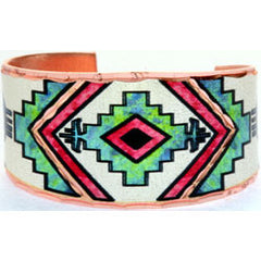 Native Design Colourful Ring