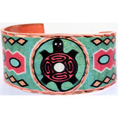 Native Turtle Colourful Ring