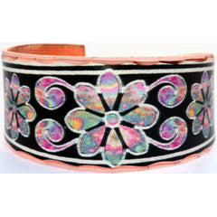 Floral Design Colourful Ring
