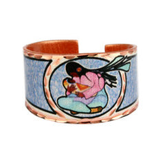 Cecil Youngfox Joyous Motherhood Artist Collection Copper Ring