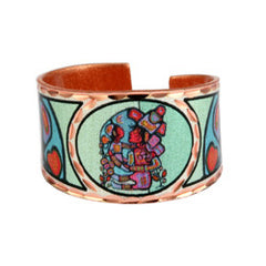 Norval Morrisseau Mother & Child Artist Collection Copper Ring
