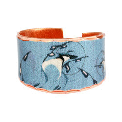 'Blue Jay' Artist Collection Copper Ring - Oscardo