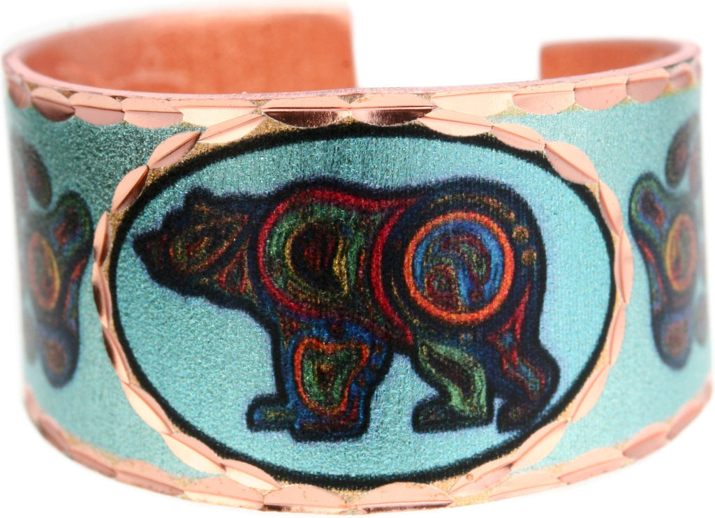 'Bear' Artist Collection Copper Ring - Oscardo